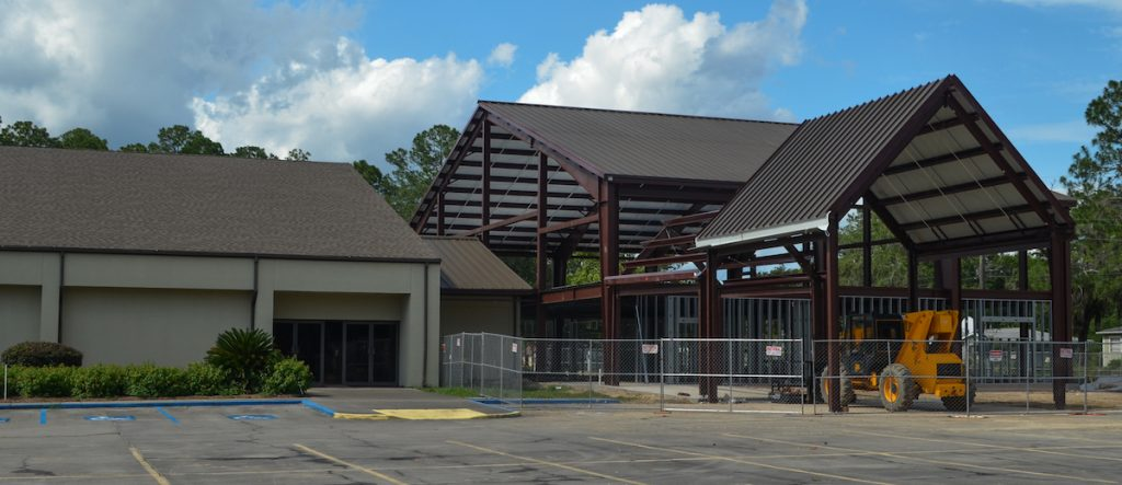 Baptist Church Addition Panama City Architect