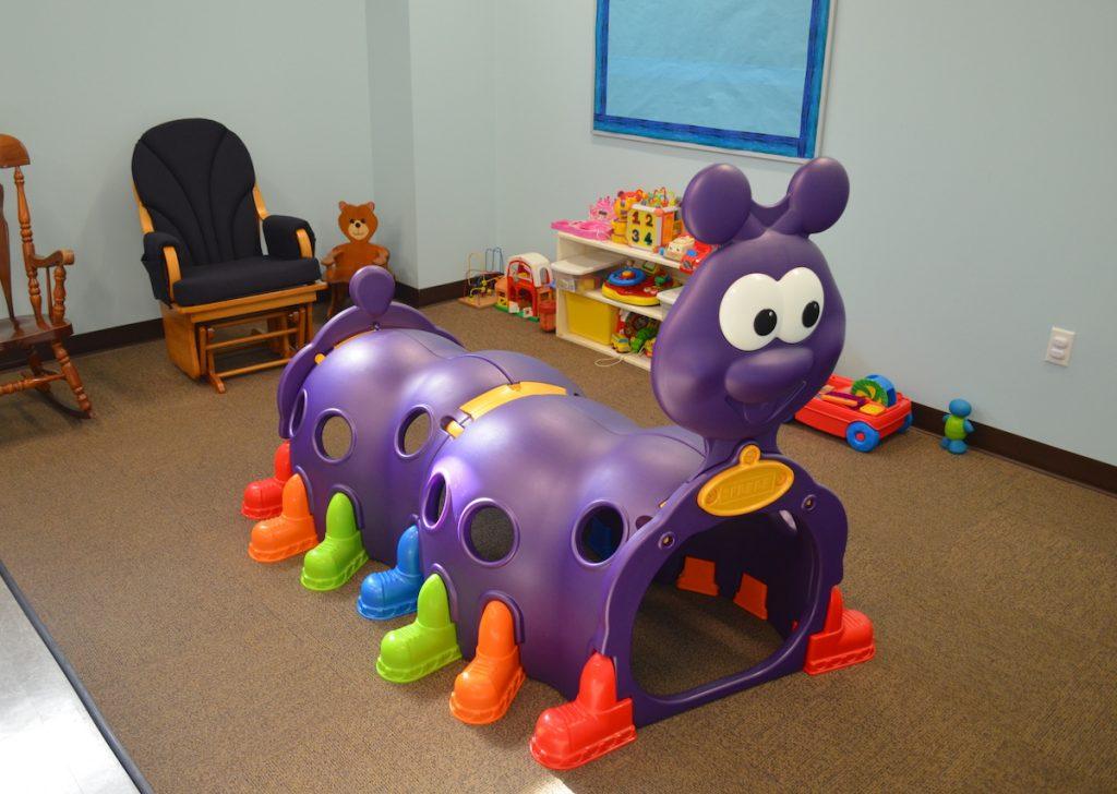 Play equipment at First Baptist Church Lynn Haven