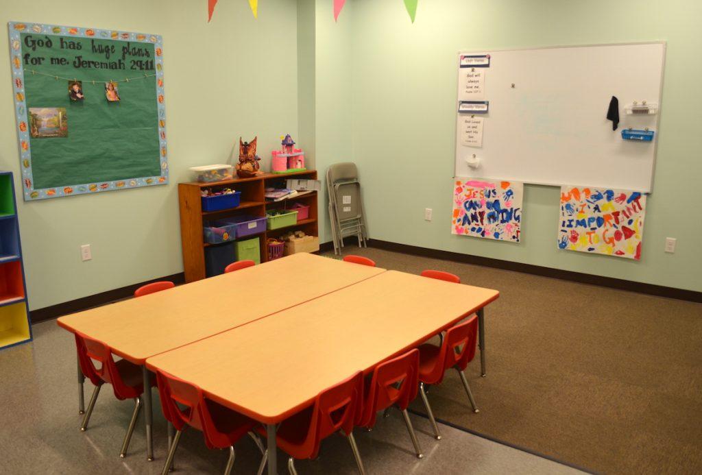 Classroom at First Baptist Church Lynn Haven